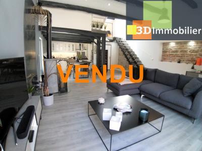 BLETTERANS (39 JURA), à vendre maison de village rénovée 100 m², 3 chambres, terrain 458 m²,