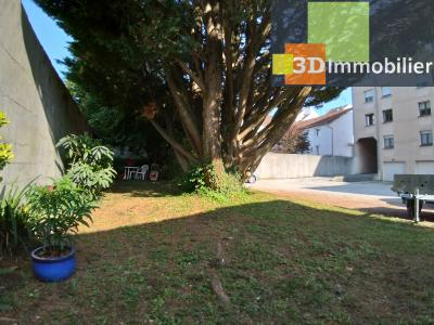 LONS-LE-SAUNIER (39 JURA), à vendre appartement centre avec terrasse, 3 chambres, 87 m² avec parking, ESPACE VERT