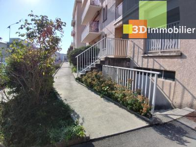 LONS-LE-SAUNIER (39 JURA), à vendre appartement centre avec terrasse, 3 chambres, 87 m² avec parking, ACCES HANDICAP