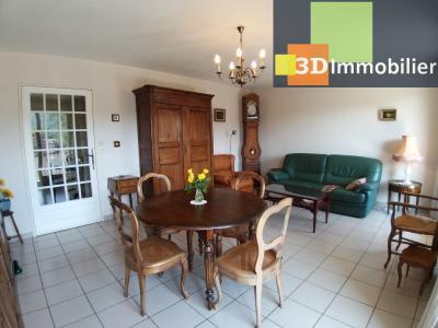 LONS-LE-SAUNIER (39 JURA), à vendre appartement centre avec terrasse, 3 chambres, 87 m² avec parking, SEJOUR