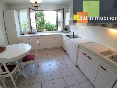 LONS-LE-SAUNIER (39 JURA), à vendre appartement centre avec terrasse, 3 chambres, 87 m² avec parking, CUISINE