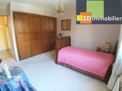 LONS-LE-SAUNIER (39 JURA), à vendre appartement centre avec terrasse, 3 chambres, 87 m² avec parking, CHAMBRE 2