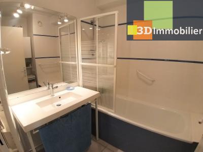 LONS-LE-SAUNIER (39 JURA), à vendre appartement centre avec terrasse, 3 chambres, 87 m² avec parking, SALLE DE BAIN