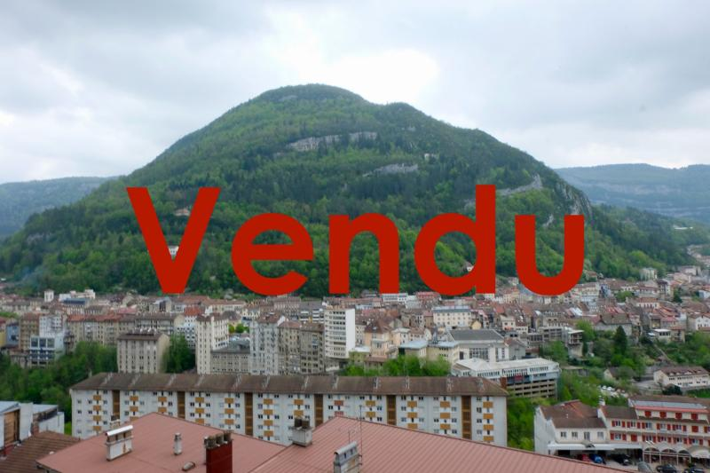 VENTE : SAINT-CLAUDE (39), RUE BEAUREGARD, A VENDRE APPARTEMENT T3 DE 58 M2.