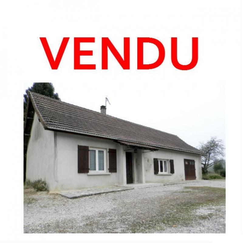 Vente proche LONS LE SAUNIER et LOUHANS (71), maison plain-pied 74.70 m�, terrain env. 3500 m�