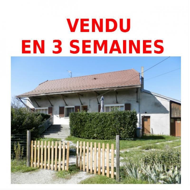 Vente proche BLETTERANS (39), maison de 100 m� + garage,  sur terrain 991 m�