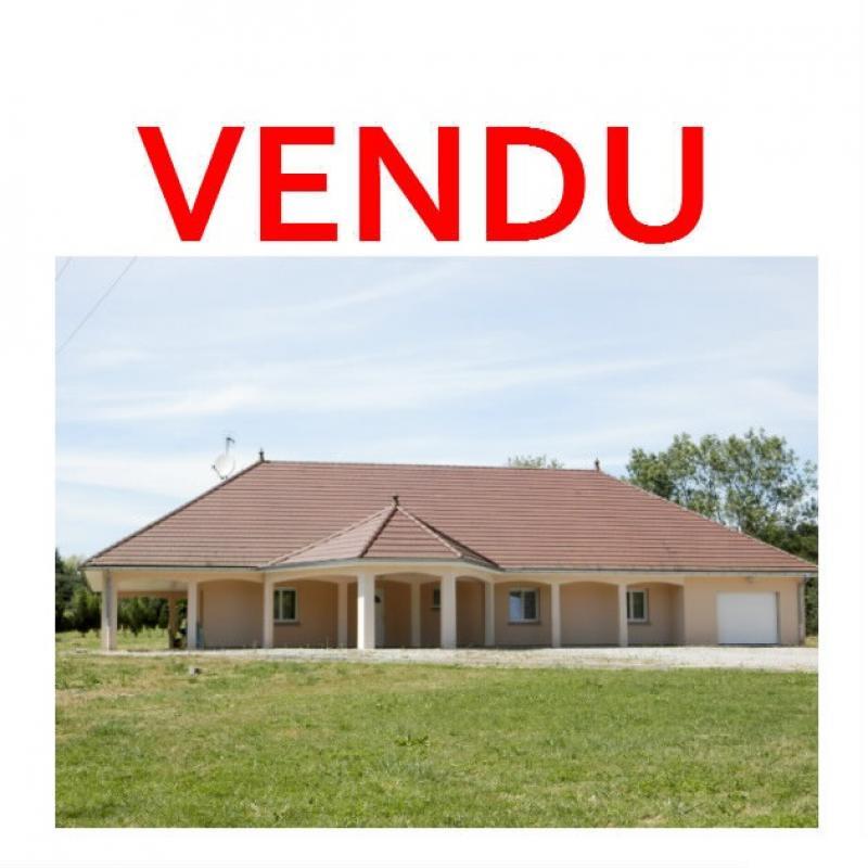 SAINT-GERMAIN-DU-BOIS (71), � vendre maison contemporaine plain-pied 180 m�, terrain 5935 m�