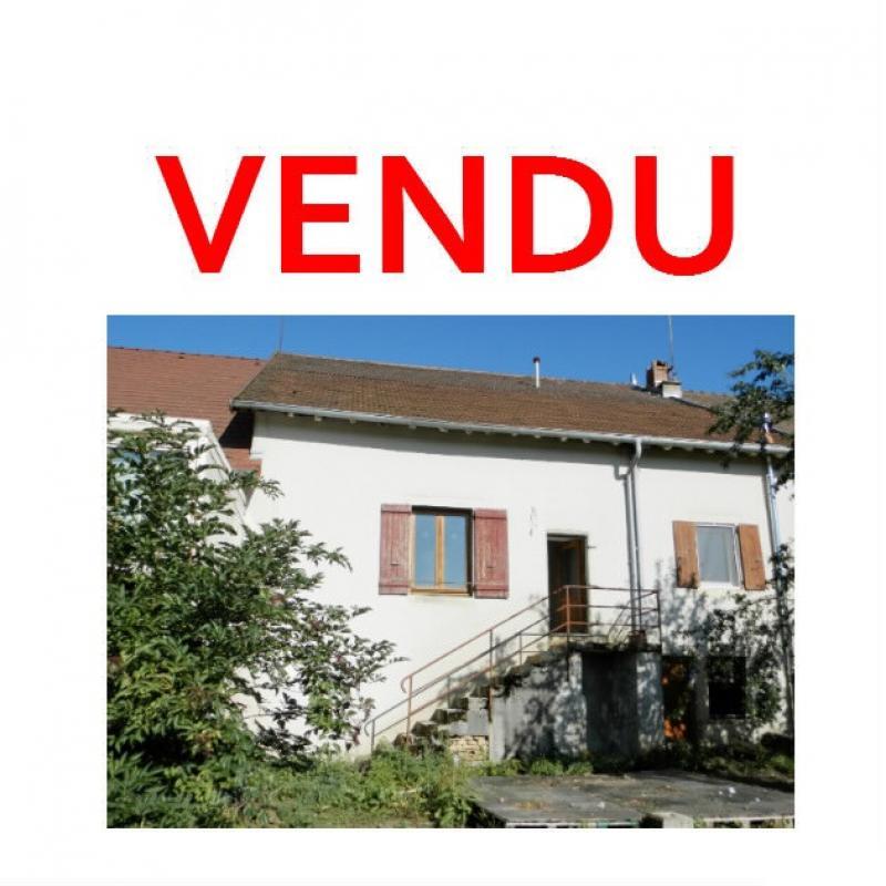 Secteur DOMBLANS (39210), à vendre maison en pierre 70 m² environ, dépendances, terrain 583 m².