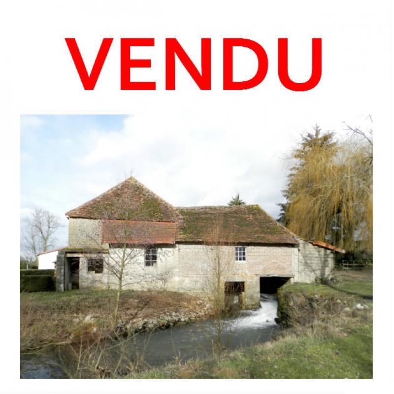 Vente plaine Jurassienne, maison d'habitation 114 m� avec moulin et droit d'eau, terrain 3030 m�
