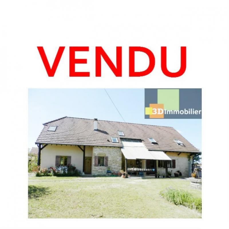 CHAUMERGY (39), vends ferme rénovée 158 m² + gite attenant 120 m², terrain 2659 m².