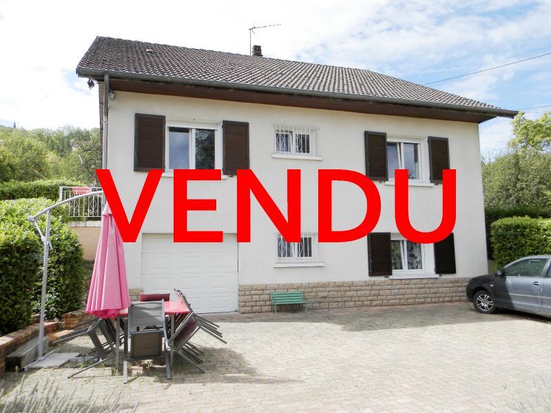 LONS-LE-SAUNIER (39), A VENDRE maison familiale 190 m², 5 chambres + bureau, garage, terrain 986 m².