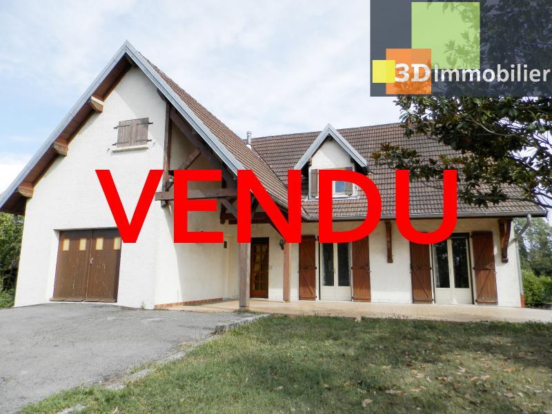 BLETTERANS (39140), maison 135 m², quatre chambres, garage, terrain environ 1000 m²