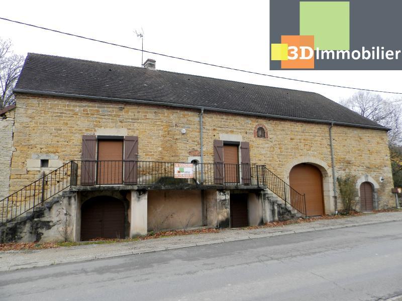 LONS-LE-SAUNIER (39), maison en pierre 127 m² sur terrain 823 m².