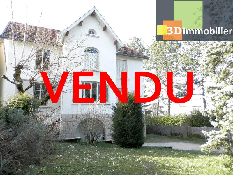 VENTE : LONS-LE-SAUNIER (JURA), A VENDRE maison de caractère 110 m², terrain 688 m²