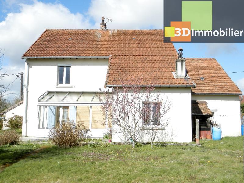 LONS-LE-SAUNIER (39 JURA), A VENDRE MAISON 125 M², DÉPENDANCES, GARAGE, TERRAIN 2151 M².