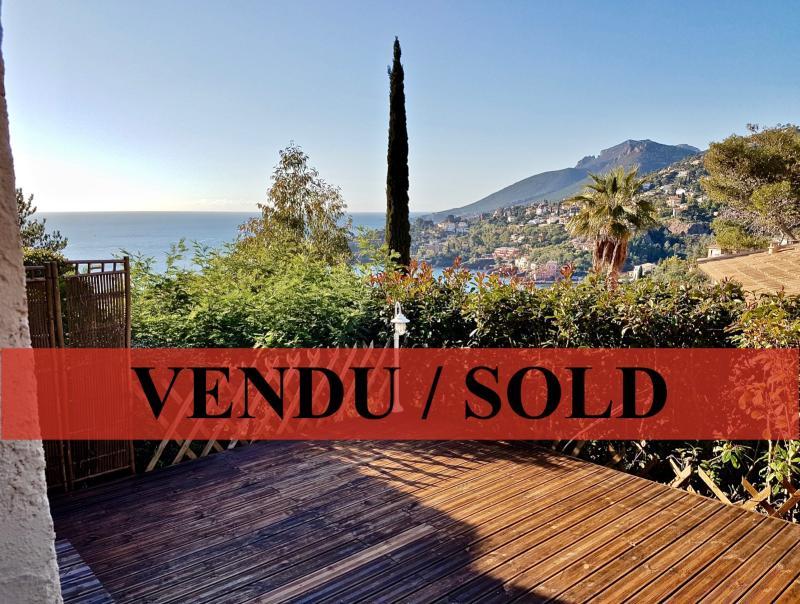 Théoule sur Mer (06 Alpes Maritimes), à vendre appartement vue mer, terrasse 20m2 exposé sud ouest