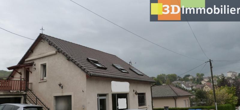 LONS-LE-SAUNIER 39000 JURA  Vends MAISON  habitation 85m²env.+ local professionnel 100m² env.