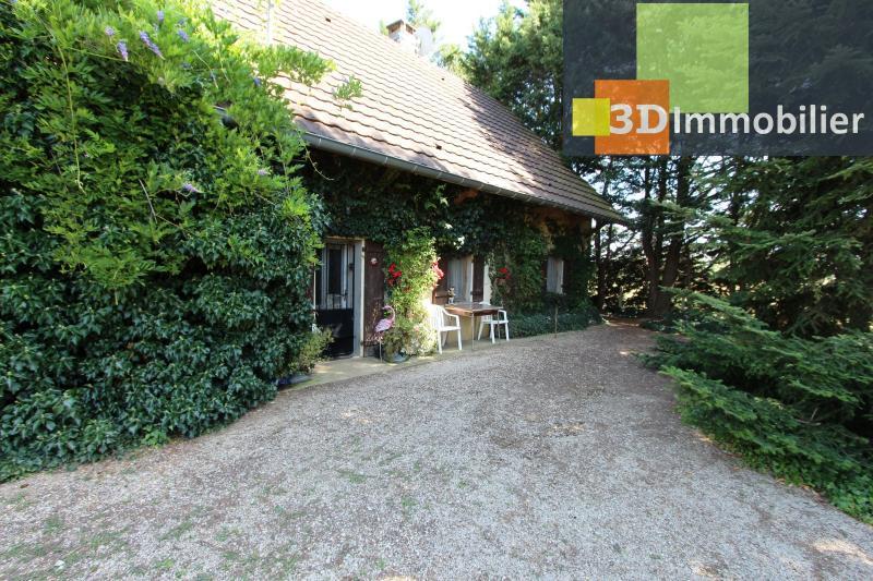 SAINT GERMAIN DU BOIS (71), à vendre maison 65m² avec dépendances, terrain 4541 m² arboré.