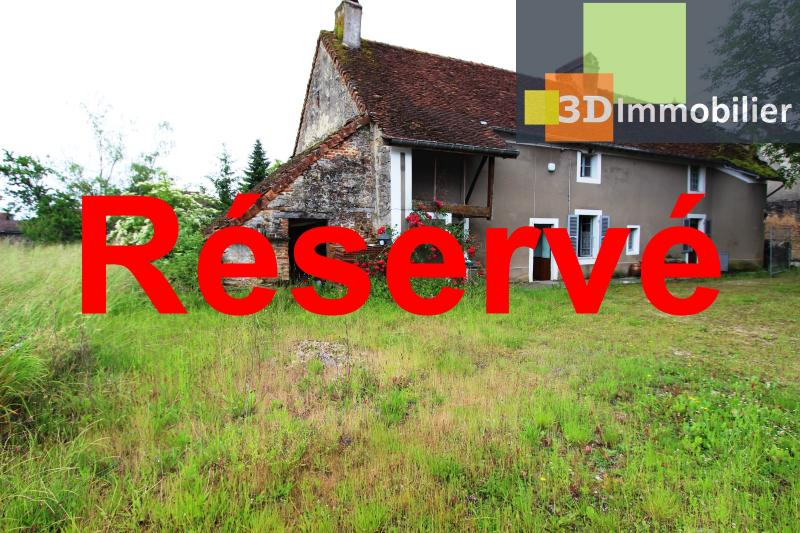Secteur Bletterans (39 JURA), à vendre maison à réhabiliter avec dépendances sur 4628 m² de terrain.
