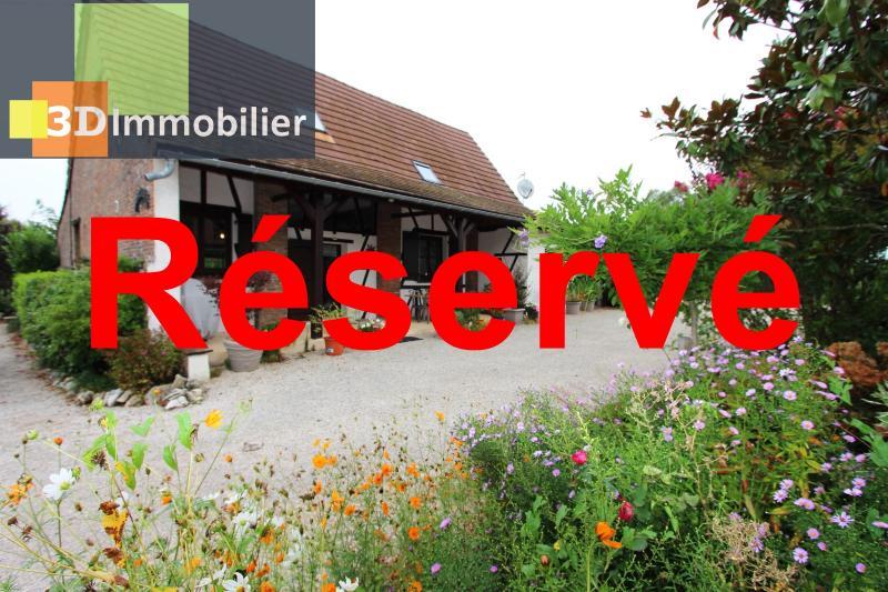 Proche Bletterans (JURA), à vendre ferme bressane rénovée lumineuse sur grand terrain..