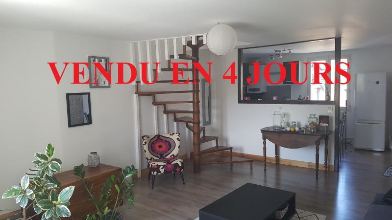Hypercentre Lons le Saunier, � vendre appartement T3 en duplex.