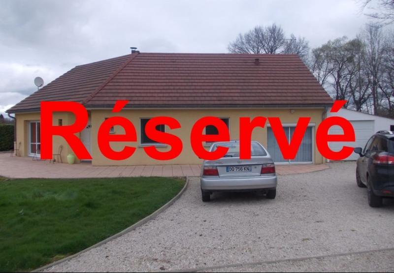 Secteur Chaumergy, vends agr�able maison (2007) de 6 pi�ces, 110m�, piscine sur 4200m� de terrain