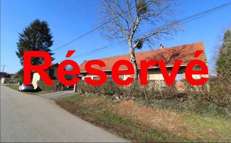 Chaussin à vendre maison (ancienne ferme) de 4 pièces, dépendances 260 m² sur 5417m² de terrain.