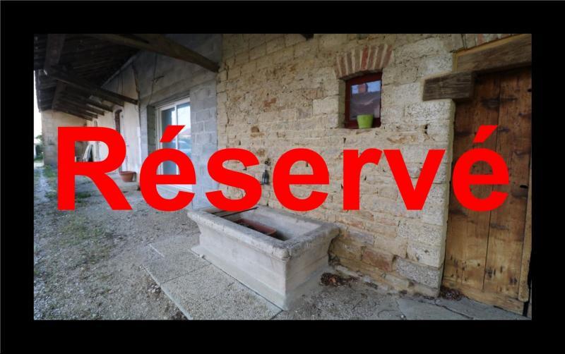 Proche Chaumergy, vends maison et ferme 75 et 150m² en cours de restauration sur 2750 m² de terrain.