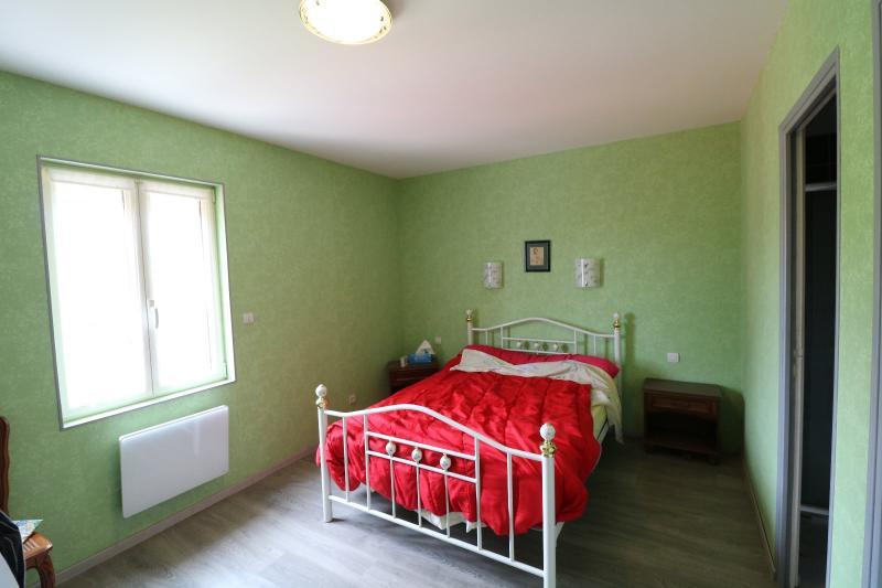 chambre avec cheminée chalet