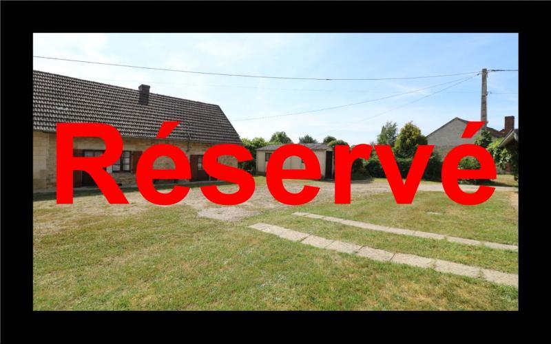 Chaumergy, vends maison de plain pied, 4 pièces, grandes dépendances 180m² sur 3469m² de terrain.