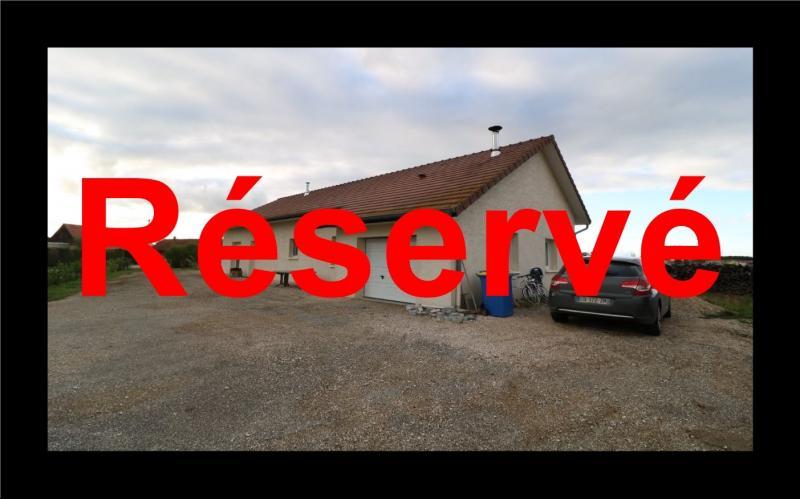 Secteur Chaussin, � vendre agr�able maison r�cente (2008) de 7 pi�ces, 140m� sur 2000m� de terrain.