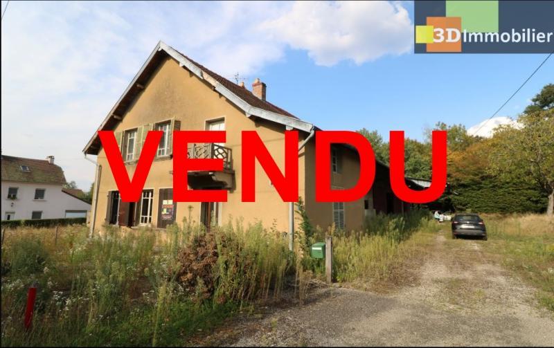 Proche Chaussin , vends ferme ancienne de 5 pièces, 90m², 500m² de dépendances sur1879m² de terrain