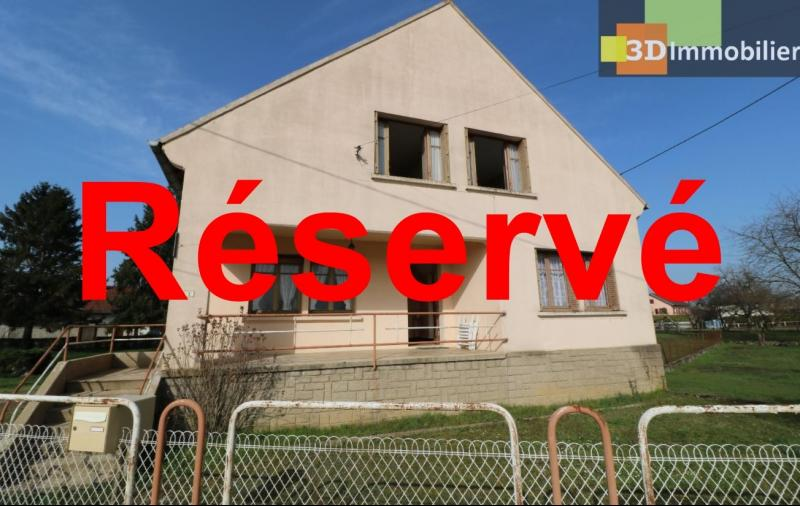 Chaussin (39 Jura), maison de 6 pièces, 130m² habitables, dépendance de 140 m² sur 3500m² de terrain
