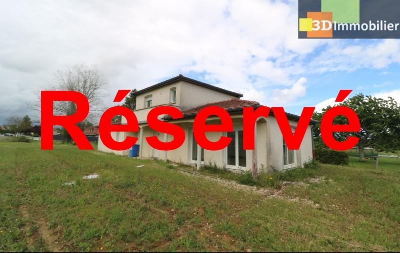 Chaussin, vends maison style provençal 7 pièces, 145 m² habitables sur terrain de 5580 m².