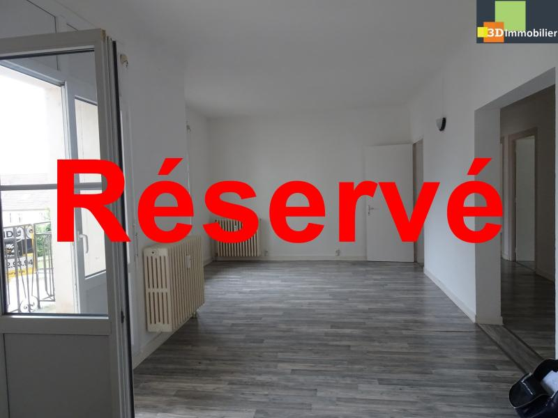 DOLE, 39100, T5 3 chambres, salon salle à manger, cuisine équipée bonne état, balcon