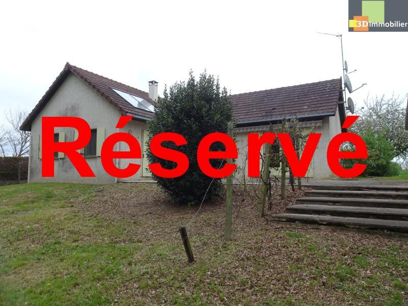 Chaussin, 39120, à vendre Maison de 100 m² 3 chambres, plain pied,  terrain 3660 m², garage au calme