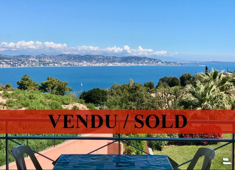 Th�oule sur Mer (Alpes Maritimes), � vendre appartement vue mer, terrasse, grand garage box