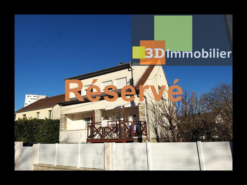LONS-LE-SAUNIER (39 JURA), CENTRE-VILLE à vendre maison individuelle rénovée 110m², 6 pièces, jardin