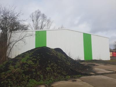 Entrepôt structure acier 400 M² avec 2000 M² de terrain
