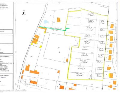 Parcelles de Terrain à lotir de 22 000 m²