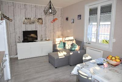 APPARTEMENT 2 CHAMBRES ENTIEREMENT RENOVE 80M PLAGE, Agence Immobilière Merlimont