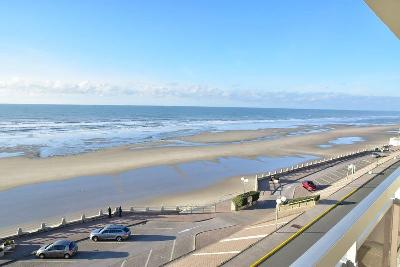 MERLIMONT PLAGE APPARTEMENT FACE MER 1 CHAMBRRE