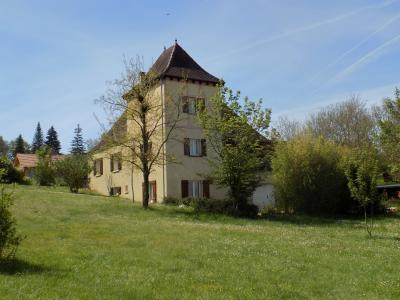 lotgrande maison style périgourdin avec tour Salviac