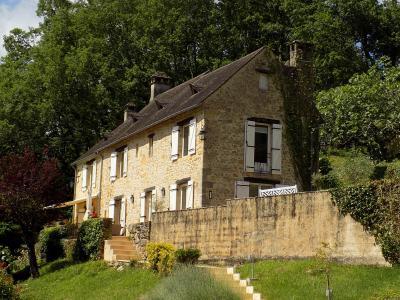 P�rigord noir, Superbe demeure restaur�e avec vue panoramique